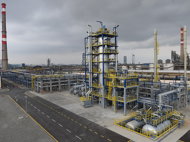 Heydar Aliyev refinery, which is located in the Republic of Azerbaijan, is undergoing modernisation.