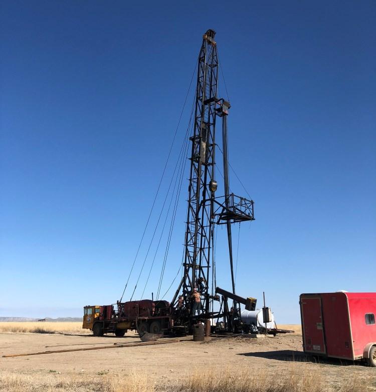 Montana Oil Field