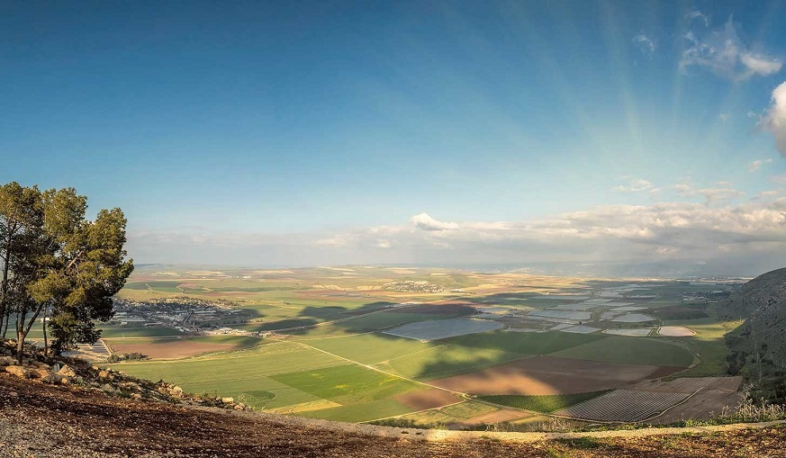 Valley of the Springs in Zion's 99,000-acre Megiddo-Jezreel licence in Israel. Credit: Zion Oil & Gas, Inc.