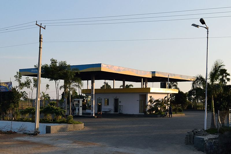 BPCL_petrol_filling_station
