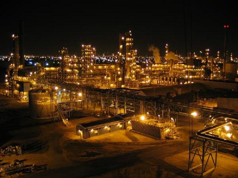 Co-op Refinery Complex is an oil refinery located in Regina, Saskatchewan, Canada. Credit: ARCOS LLC.
