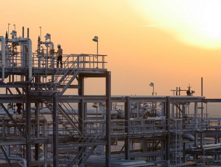 Haradh Gas Plant Condensate Stabilizer Area