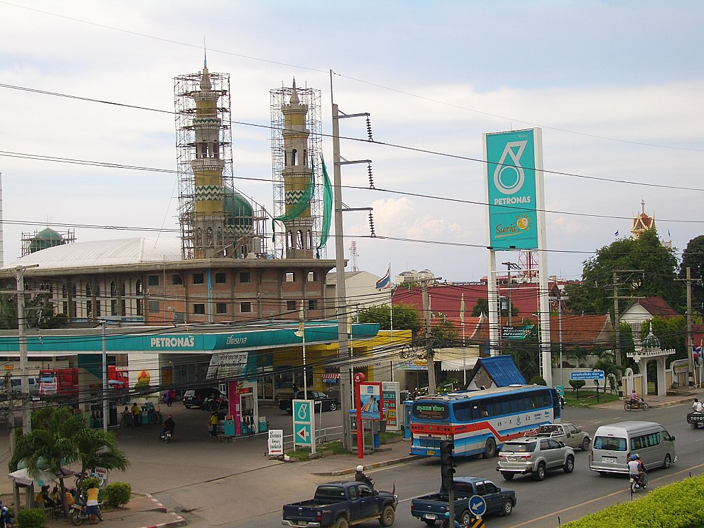 Petronas-station