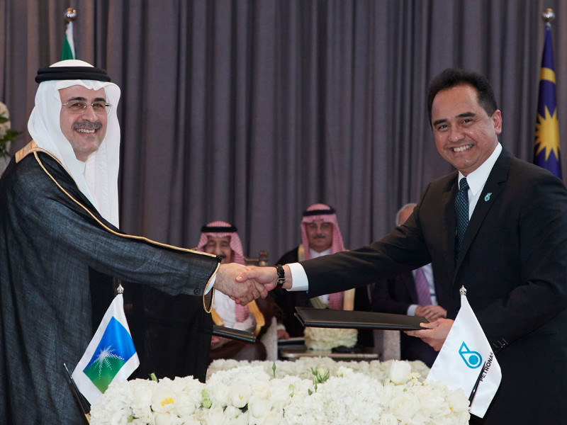Saudi Aramco and Petronas are partners in the RAPID project. Credit: Saudi Arabian Oil Company.