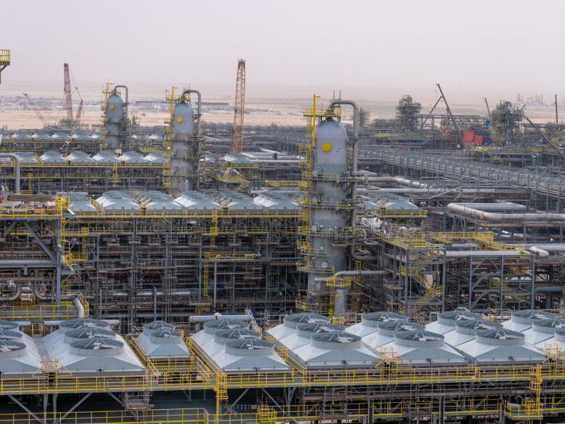 Fadhili is a part of the proposed Master Gas System. Credit: Saudi Arabian Oil Company.