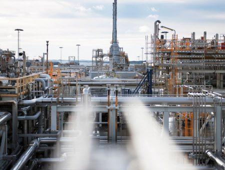 Equinor Kollsnes gas processing plant