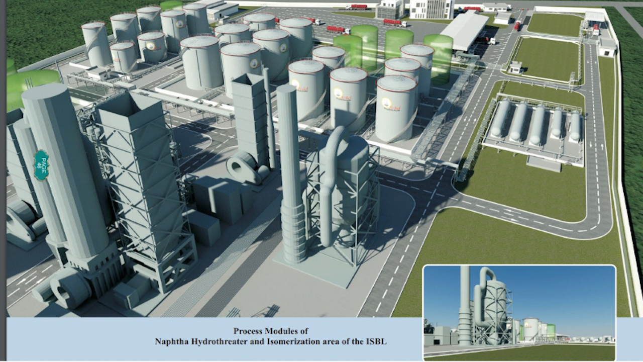 Azikel Refinery Project