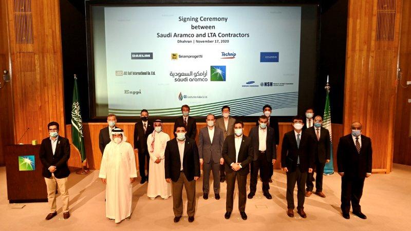 Saudi Aramco oil and gas