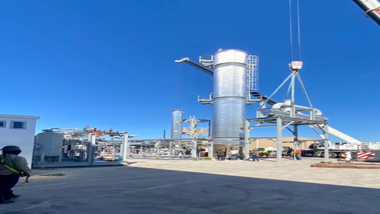 Cabinda Oil Refinery