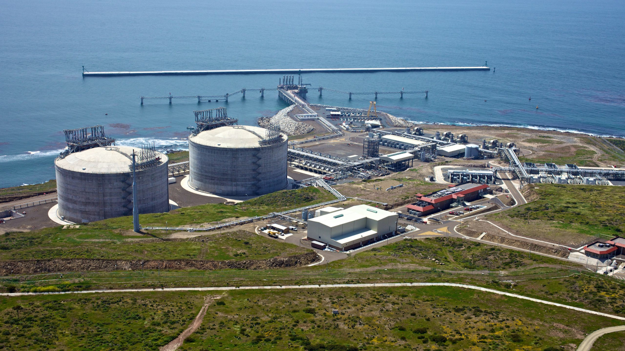 ECA LNG export facility phase one is being developed in Baja California, Mexico. Credit: Sempra LNG.