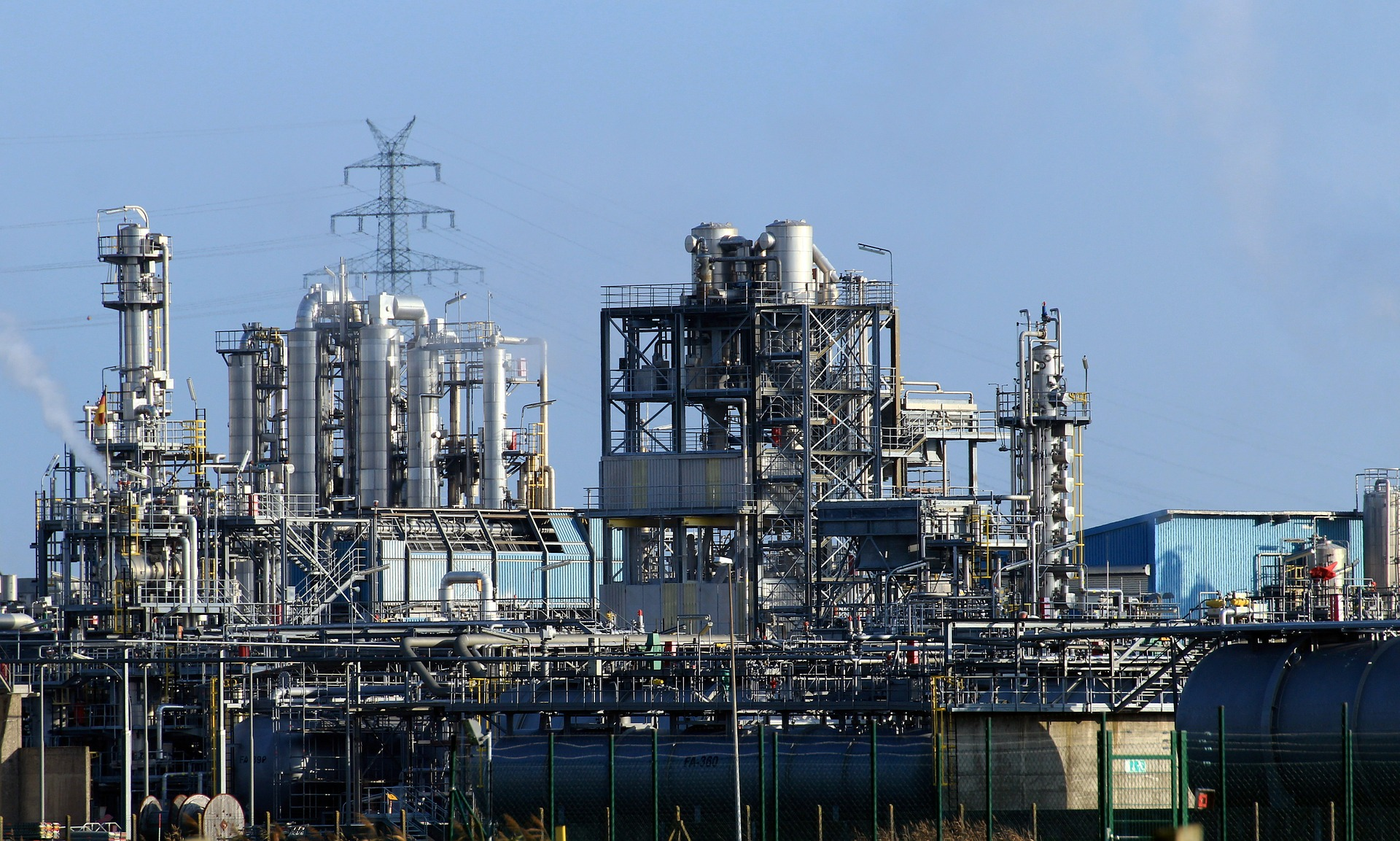 CORC Refineria di Korsou Isla refinery