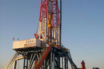 Badra oil field is being developed by Gazprom Neft