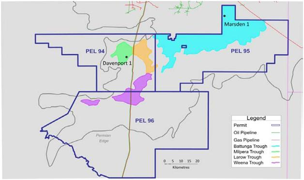 Cooper Basin drilling programme