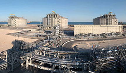 Fos Cavaou Liquefied Natural Gas (LNG) terminal is located at Fos-sur-Mer near the Cavaou peninsula in southern France.