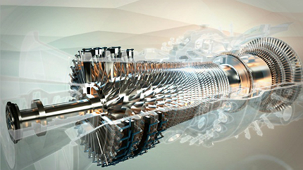Gas turbines work by compressing air and mixing it with fuel