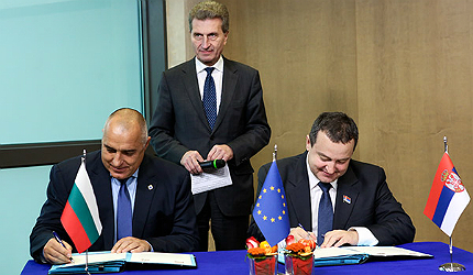 In 2012, the governments of Bulgaria and Serbia signed a Memorandum of Understanding