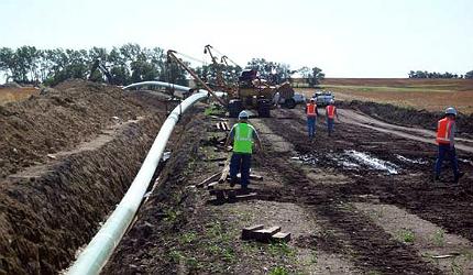 The Gulf Coast heavy crude pipeline