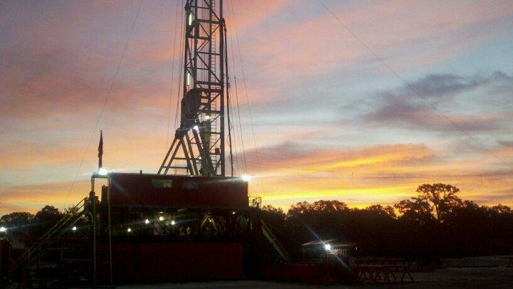 A drill rig