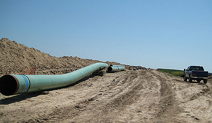 The cross-border pipeline will run from Hardisty in Canada to Steele City in the US state of Nebraska