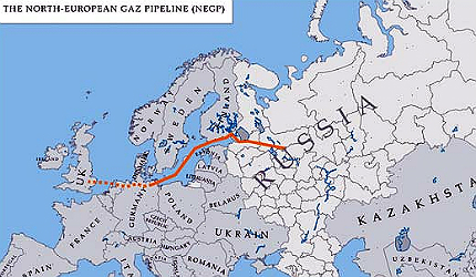 Nord Stream Gas Pipeline Nsgp Russia Germany Hydrocarbons