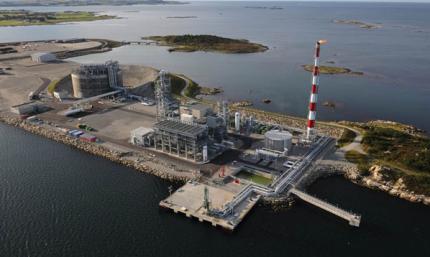 Stlot LNGaz Natural Gas Liquefaction Plant, Quebec
