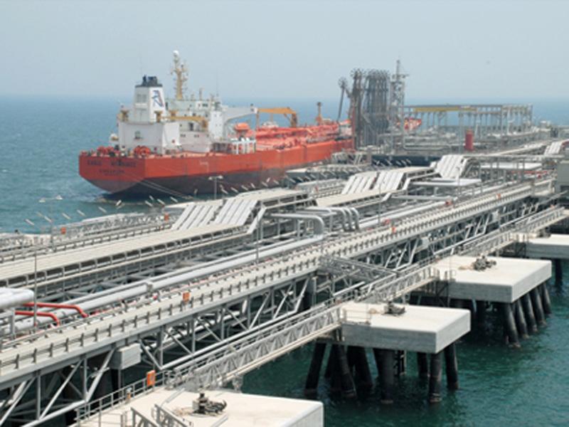LNG import terminal at Al-Zour, Kuwait