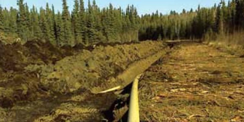 a natural gas pipeline