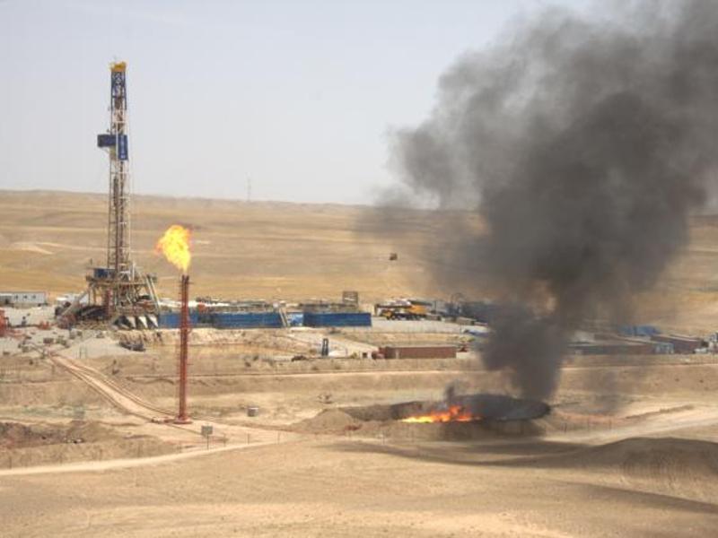 Sarqala oil field