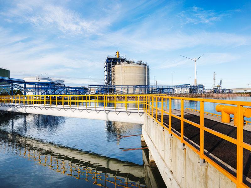 Skangas LNG import terminal