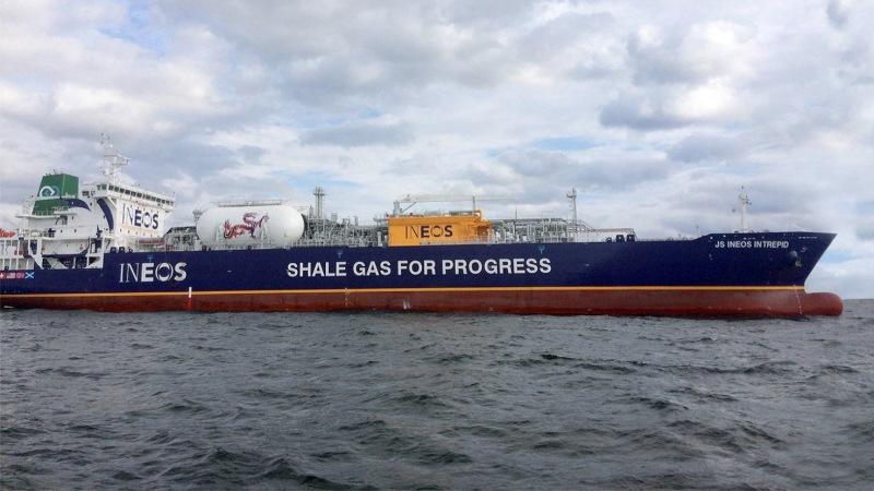 ineos gas delivery