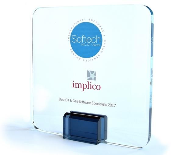 implico's softech magazine award