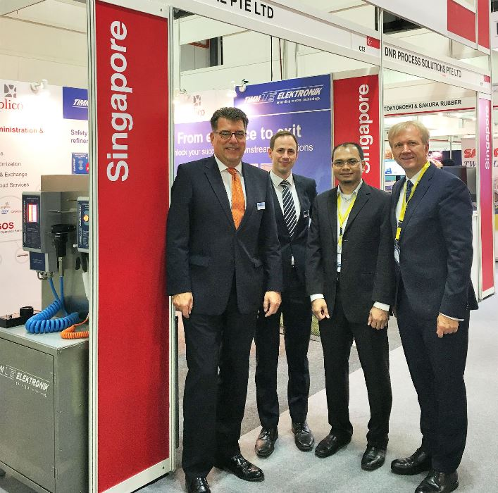 tank storage asia booth