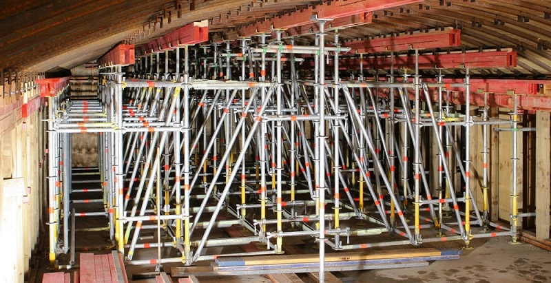 heavy duty scaffold towers and support systems