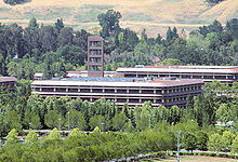 Chevron headquarters in California, US