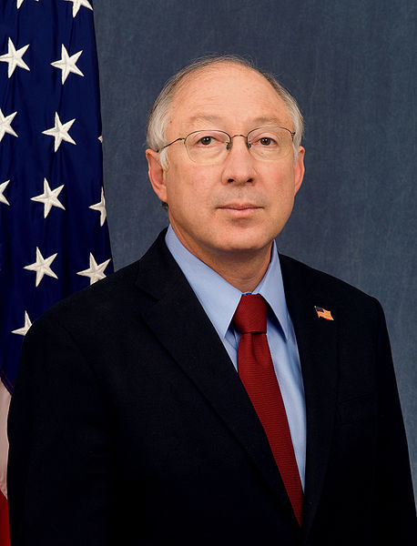 US Secretary of the Interior Ken Salazar