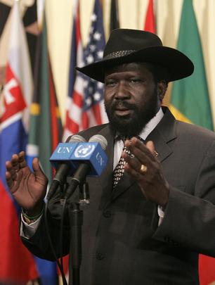 Southern Sudan President Salva Kiir Mayardit