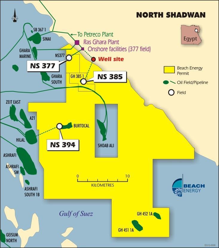 North Shadwan concession