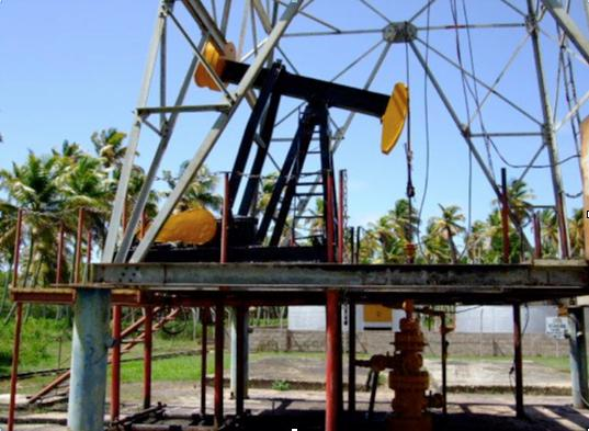 oilfield in Trinidad