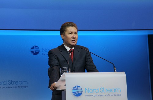 Gazprom Chairman of the Management Committee Alexey Miller