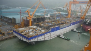 Platform from Ichthys Project